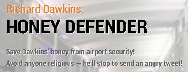 dawkins logo Richard Dawkins: Honey Defender